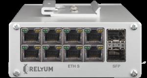 HSR/PRP PTP Redbox Switch