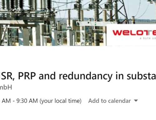 Relyum presents the webinar: How to use HSR, PRP and redundancy in substations
